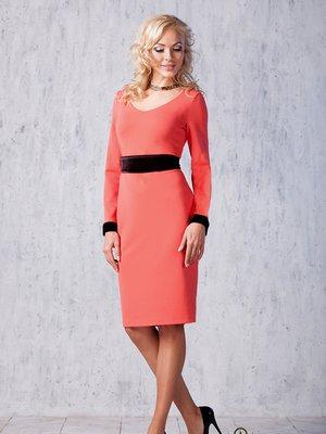 Платье коралловое | 2908054