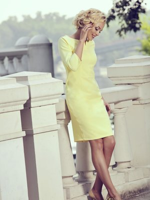 Платье желтое | 2937152