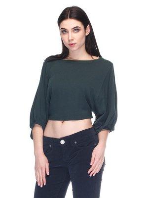 Блуза темно-зеленая   2932256