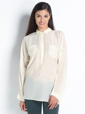 Блуза молочного кольору | 2346074