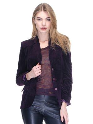 Жакет темно-фиолетовый | 2946702