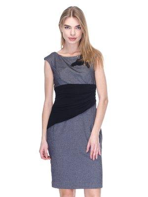 Сукня чорно-сіра | 2946789