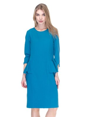 Платье бирюзовое | 2946813