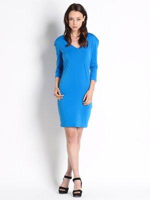 Платье ярко-синее | 2315385
