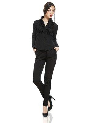 Блуза черная | 2950443