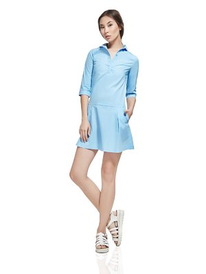 Сукня світло-блакитна | 2950701