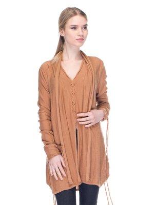 Пуловер пісочного кольору | 2946741