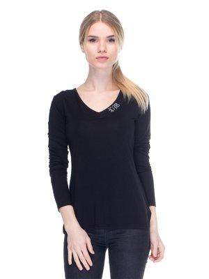Пуловер чорний | 2946713