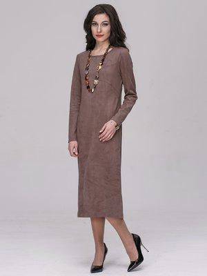 Платье цвета какао | 2689659