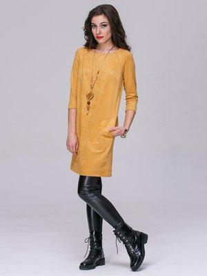 Платье верблюжьего цвета | 2955860