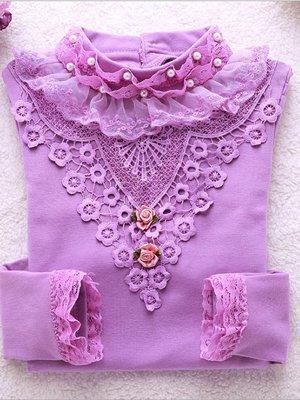 Блуза фіолетова | 2958024