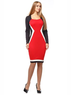 Платье трехцветное | 2962918