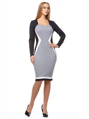 Платье трехцветное | 2962919