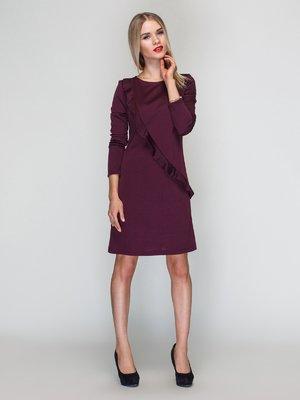 Сукня кольору марсала | 2958008