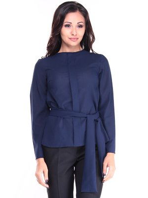 Блуза темно-синяя | 2952452