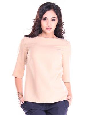 Блуза пудрового кольору | 2844969
