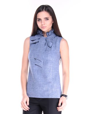 Блуза світло-бузкового кольору | 2861890