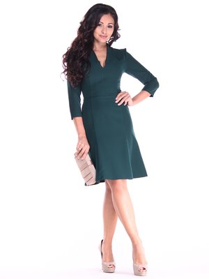 Сукня темно-смарагдового кольору | 2917854