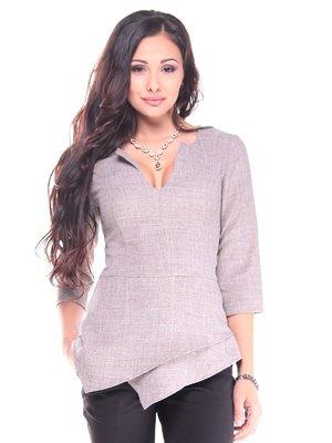 Блуза кольору мокко | 2917884