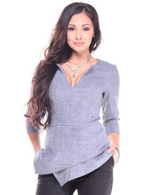 Блуза димного кольору | 2917893