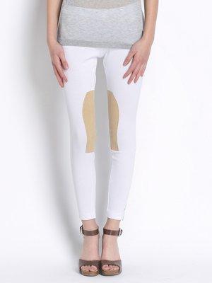 Штани біло-коричневі | 2361333