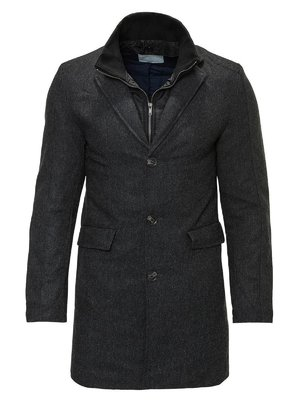 Пальто темно-сіре | 2980898