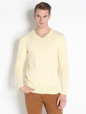 Пуловер светло-желтый | 2587593