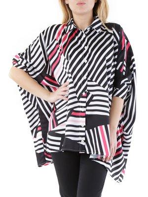 Блуза з рожевим принтом | 2984913