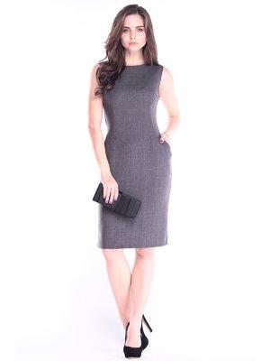 Платье графитового цвета | 2925426