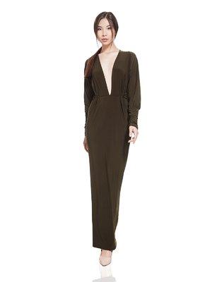 Сукня кольору хакі | 2949937
