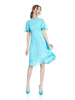 Платье голубое | 2950495