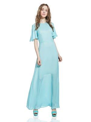 Платье голубое | 2950498