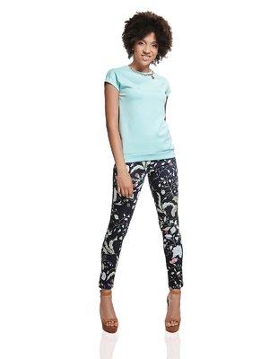 Блуза мятного цвета | 2950691