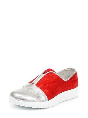 Туфлі червоно-сріблясті | 2991918