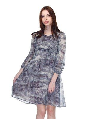 Сукня сіра у принт | 2977149