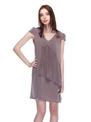 Платье коричневое   2686579
