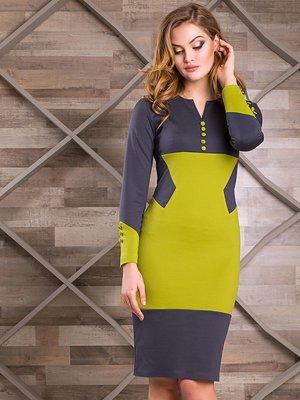 Сукня двоколірна | 2995019