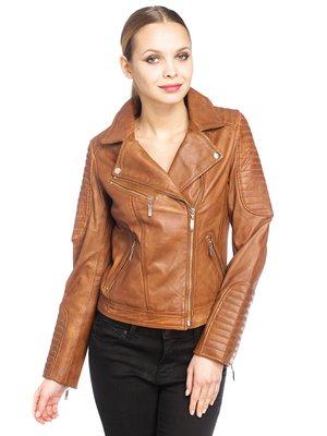 Куртка коньячного кольору | 2996858