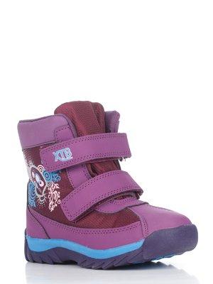 Ботинки сиреневые | 2974911