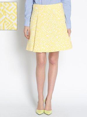 Спідниця жовта з малюнком | 2204778