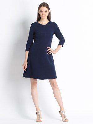 Платье темно-синее | 2652341