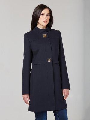Пальто темно-синее - DANNA - 2701800