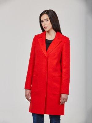 Пальто красное | 3006692
