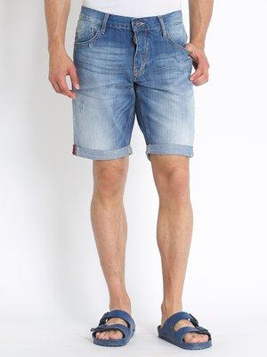 Шорты синие джинсовые | 3012192