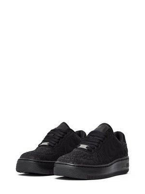 Кроссовки черные W AF1 UPSTEP PLUSH | 2750363