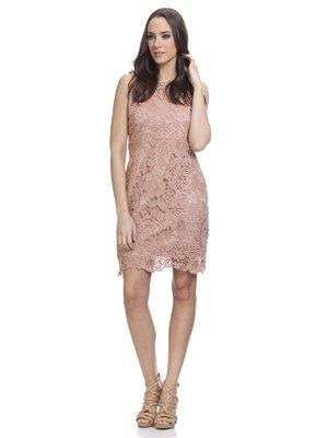Сукня рожева мереживна | 3013834
