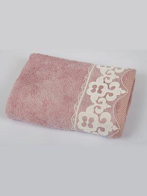 Полотенце бамбуковое розовое (50х90 см) | 2703913