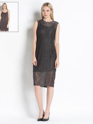 Сукня темно-сіра | 2189719