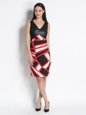 Платье трехцветное | 2416020