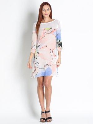 Платье цветочной расцветки | 2480891